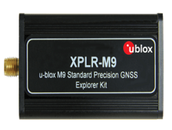 u-blox XPLR-M9 Explorer kit for M9 GNSS modules